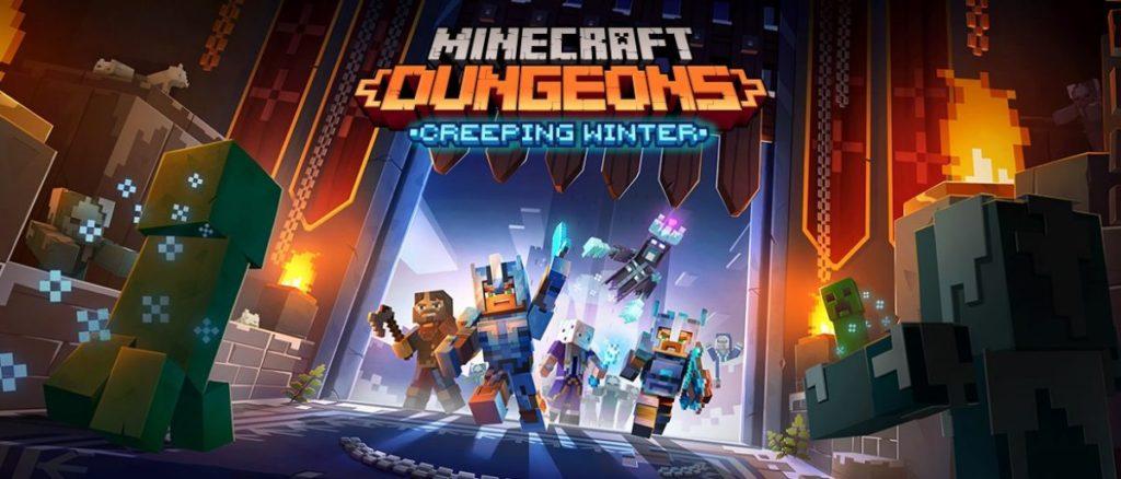 Дополнение Creeping Winter для Minecraft Dungeons выйдет 8 сентября
