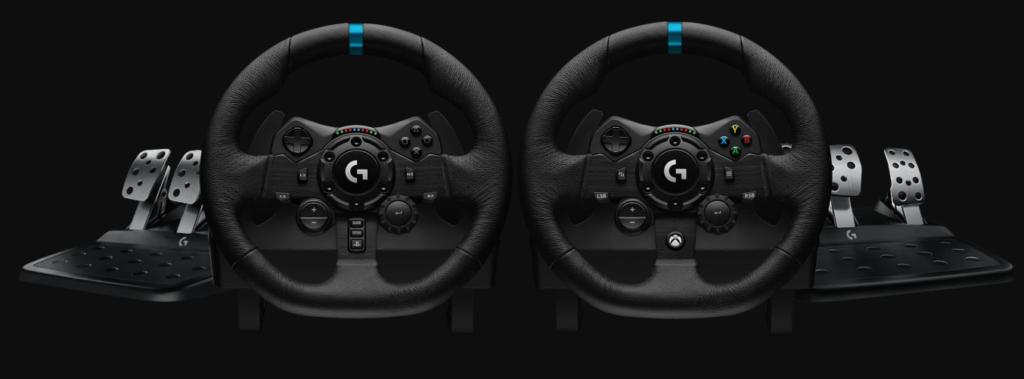 Logitech G923 Trueforce – новые гоночные руль и педали для Xbox One