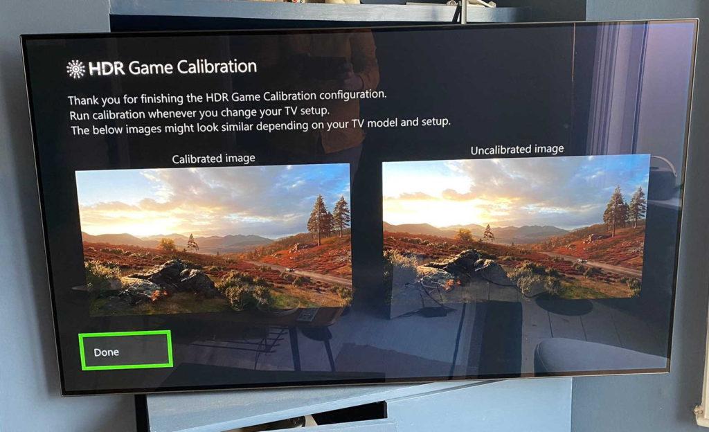 Приложение для калибровки HDR появилось в новой прошивке Xbox One