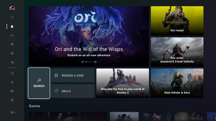 Игры в цифровом магазине на Xbox теперь можно фильтровать по трассировке лучей, FPS и прочему