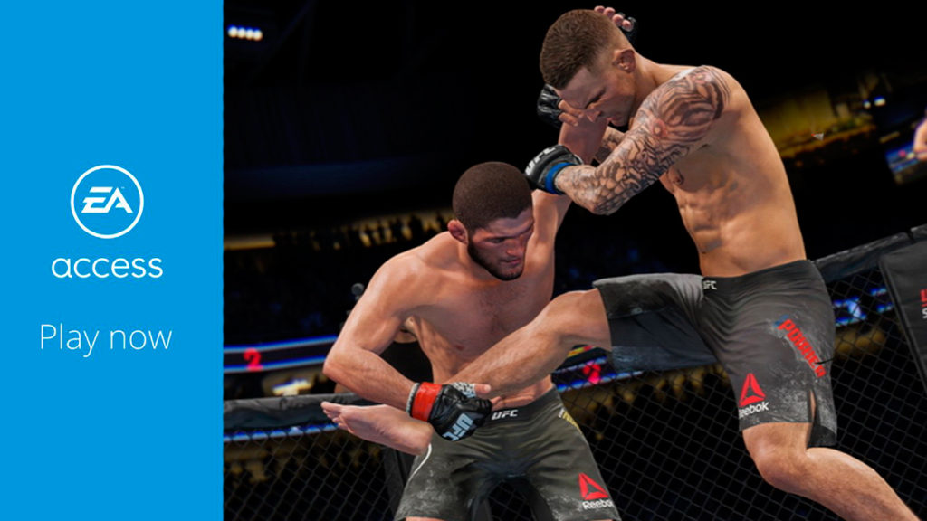 Подписчики EA Access уже могут опробовать UFC 4