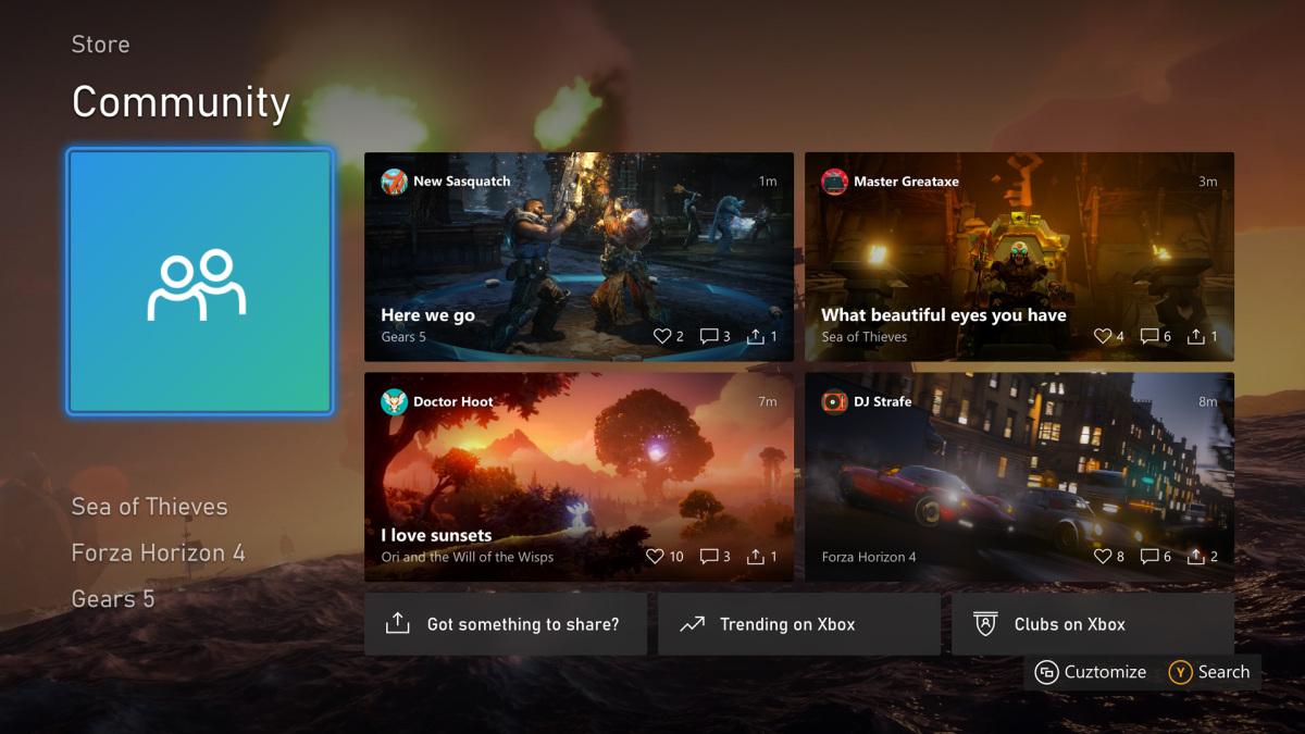 Августовская прошивка Xbox One теперь доступна всем игрокам: список изменений