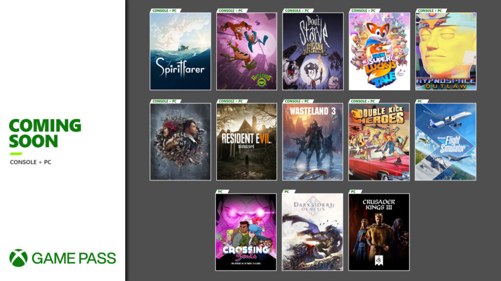 Эти 11 игр вскоре станут доступны по подписке Xbox Game Pass
