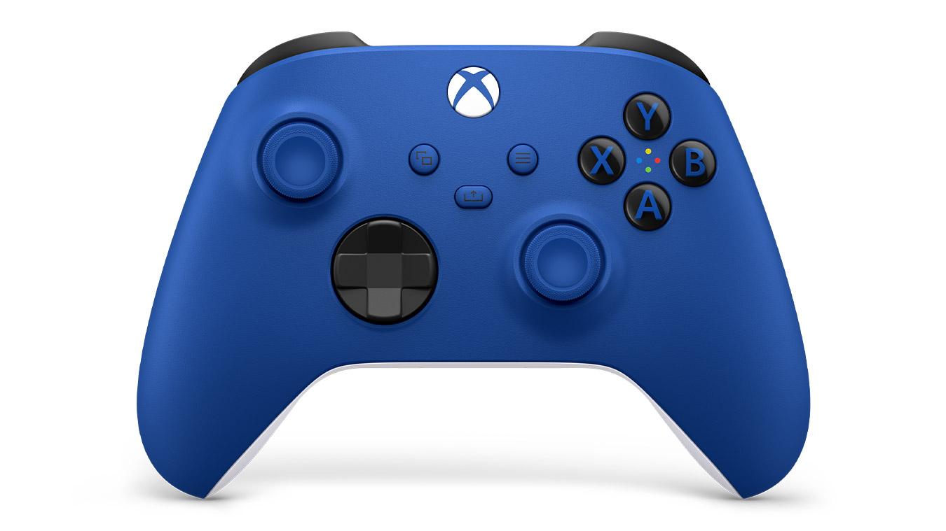 На старте Xbox Series X | S будет доступно 3 геймпада: белый, черный и синий