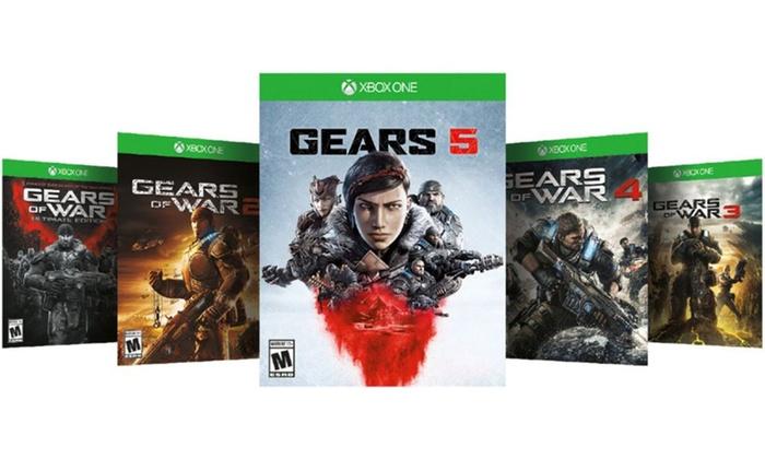 Вся коллекция Gears of War доступна для покупки со скидкой в 80%