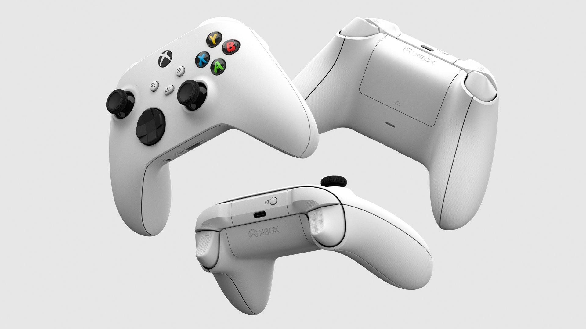 Как будет выглядеть геймпад Robot White от Xbox Series S