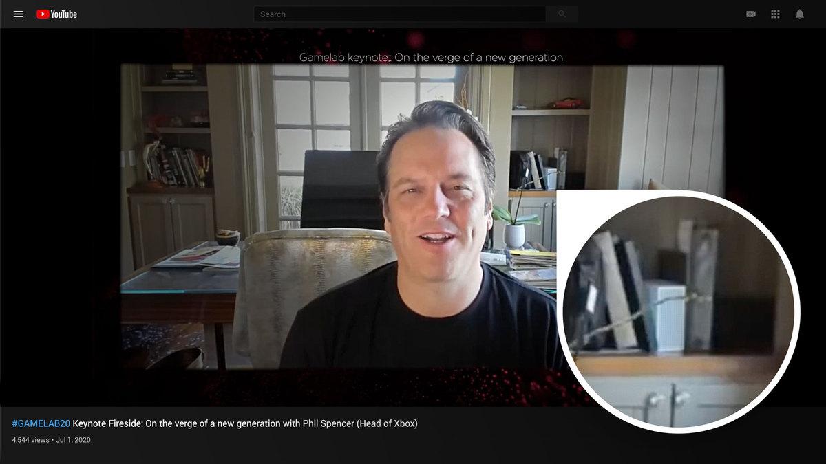 Фил Спенсер показал Xbox Series S еще в июле, но никто не заметил