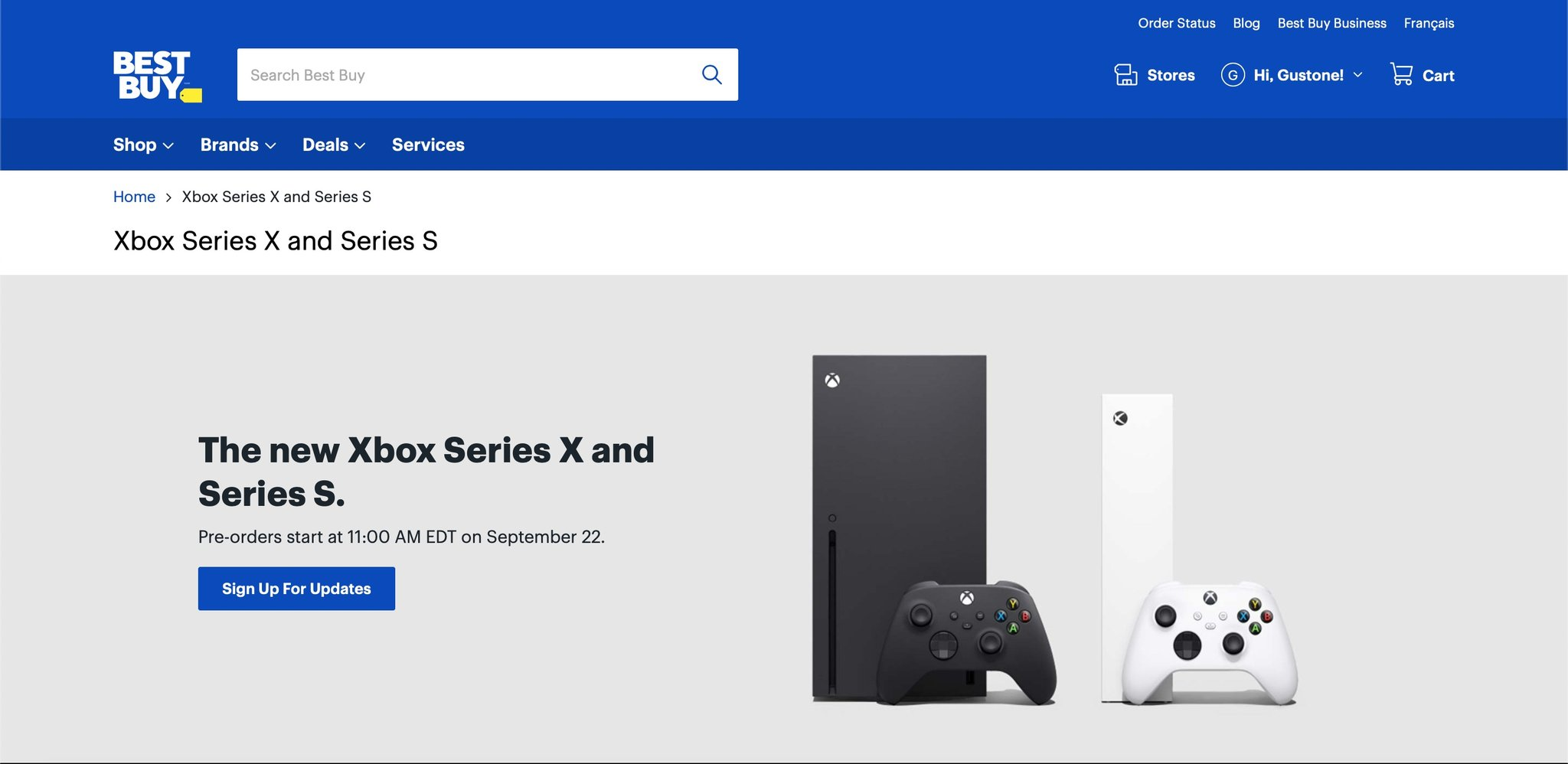 Стало известно время, когда откроют предзаказы Xbox Series X | S