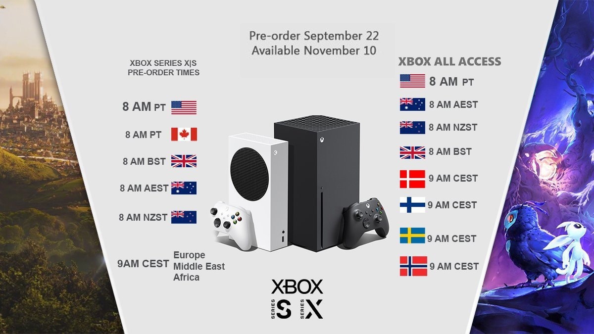 Microsoft будет наказывать магазины за ранний старт предзаказов Xbox Series X