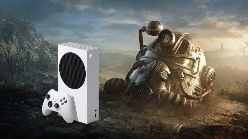 Дизайн Xbox Series S в стиле Fallout 76