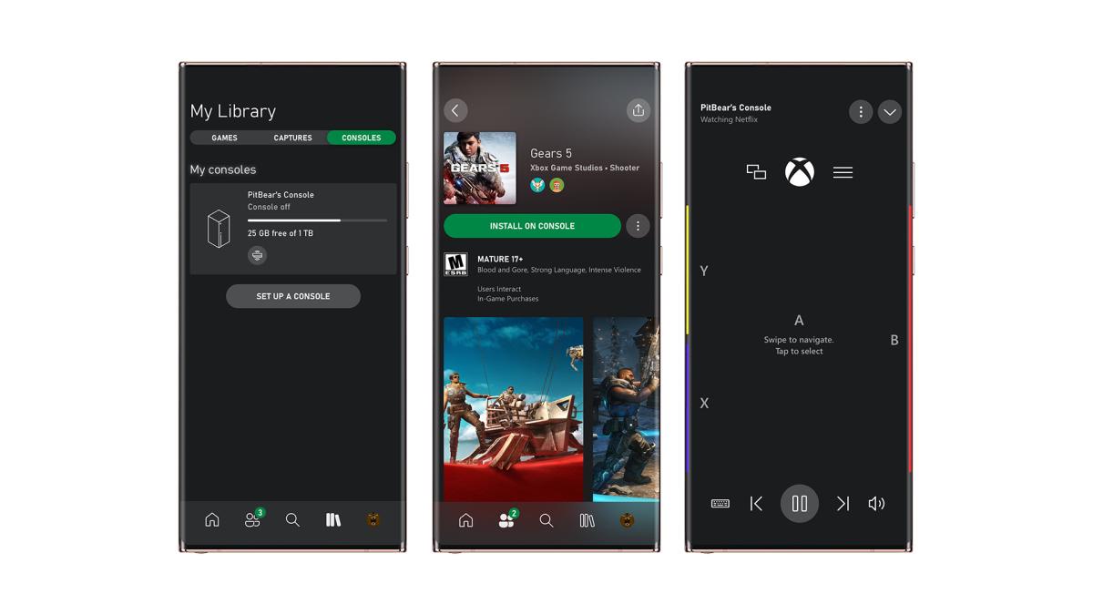 Microsoft представила новое приложение Xbox для мобильных устройств