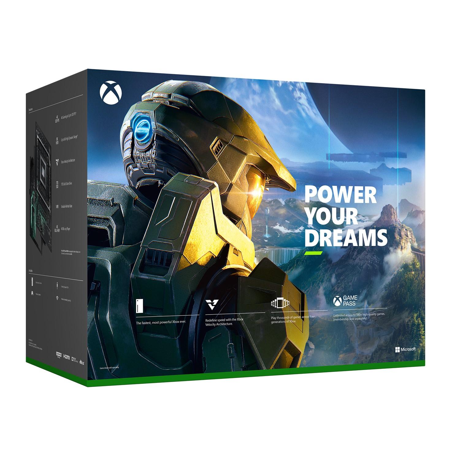 Фото задней части коробки Xbox Series X появилось в сети
