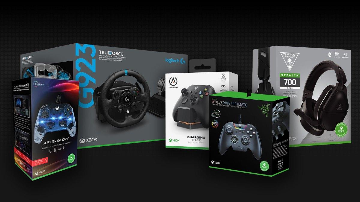 «Разработано для Xbox»: Microsoft рассказала об аксессуарах для Xbox Series X