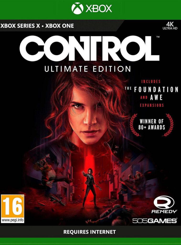 Control Ultimate Edition не влезла на диск для Xbox One