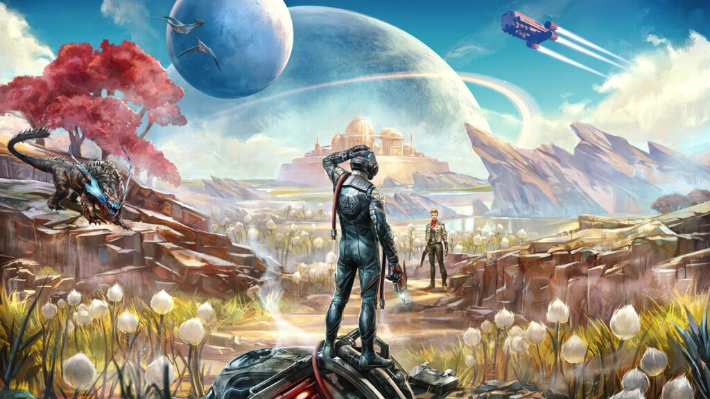Игра The Outer Worlds теперь доступна в Steam