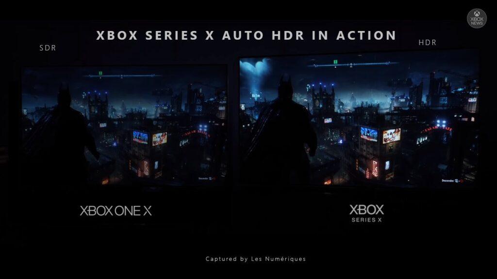 Вот как выглядит Batman Arkham Knight на Xbox Series X | S с функцией Auto-HDR