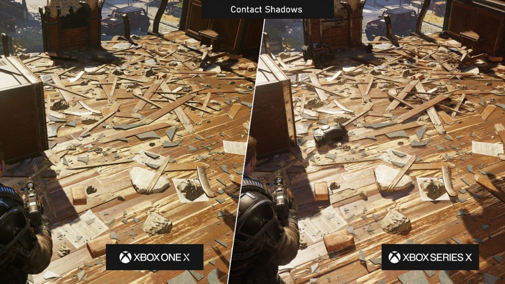 Подробности о техническом обновлении Gears 5 на Xbox Series X | S