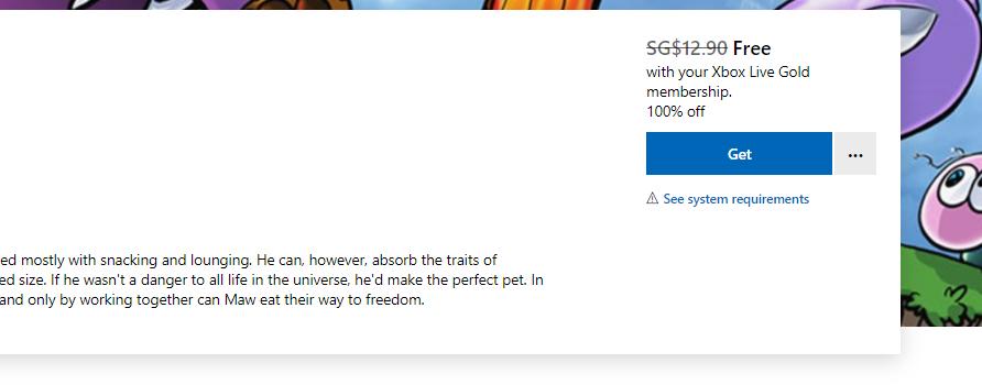 Игру The Maw вы сейчас можете забрать бесплатно для Xbox One