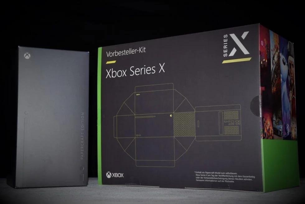 В Германии предлагаются приставки Xbox Series X «Papercraft Edition»