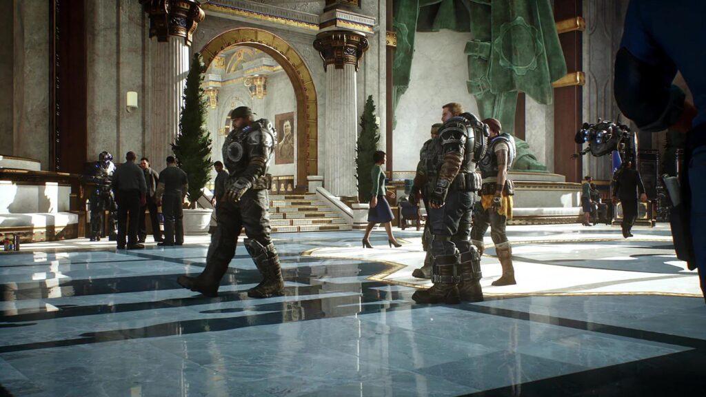 Отражения в Gears 5 на Xbox Series X лучше, чем на максимальных настройках на PC с RTX 3090