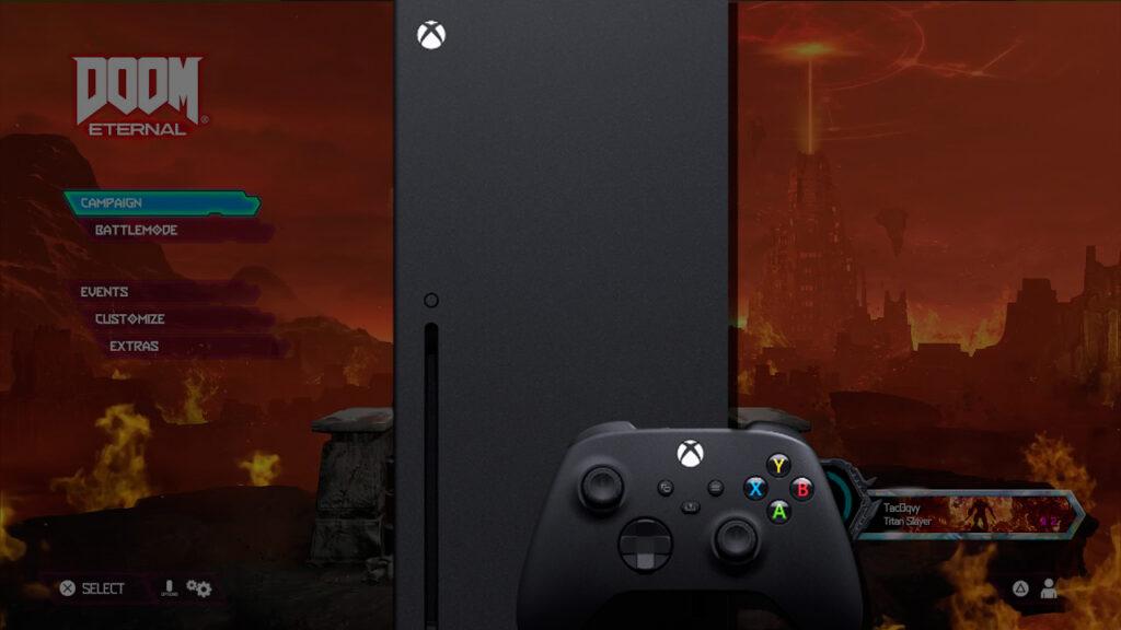 DOOM Eternal на Xbox Series X загружается феноменально быстро