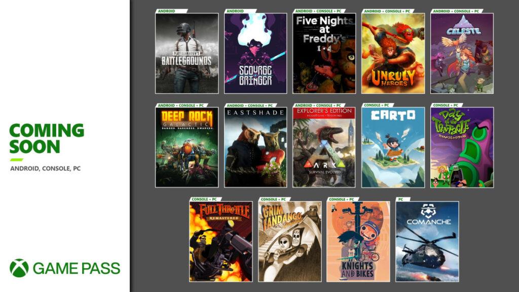 Эти 14 игр пополнят подписку Xbox Game Pass в ближайшие недели