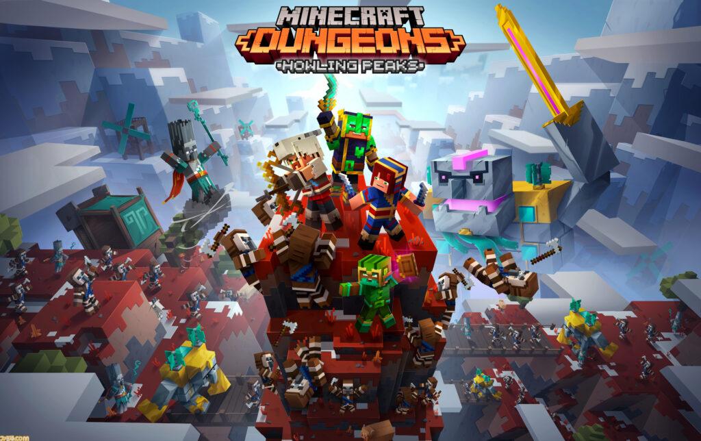 Minecraft Dungeons: кроссплатформенный мультиплеер, новый бесплатный контент и DLC