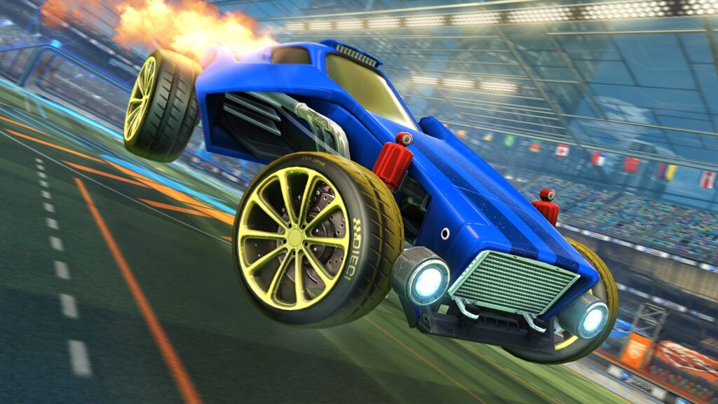 Rocket League: на Xbox Series X | S – 120 FPS, на Playstation 5 – 60 FPS
