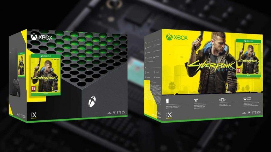 Бандл Xbox Series X с Cyberpunk 2077 обнаружили в магазине