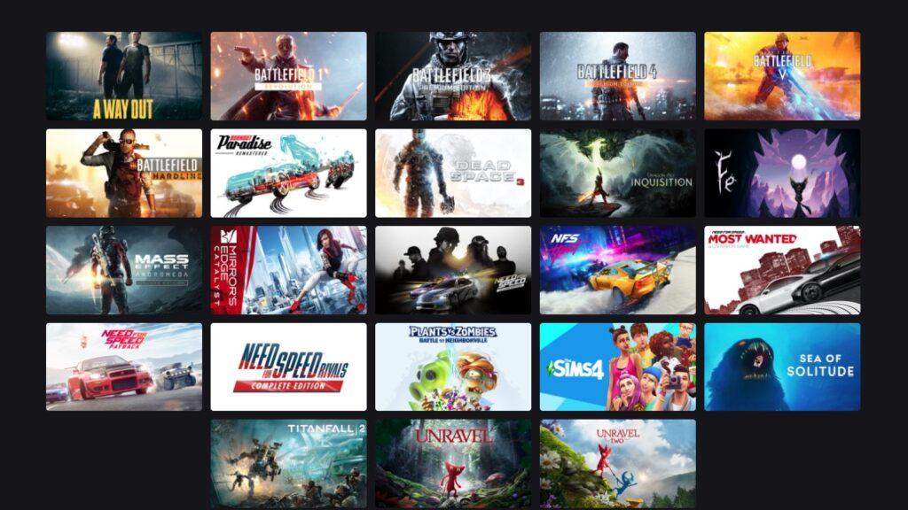 Эти 90 игр завтра появятся в Xbox Game Pass Ultimate, благодаря EA Play
