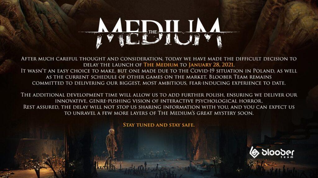 Официально: The Medium не выйдет на Xbox Series X | S в назначенный срок