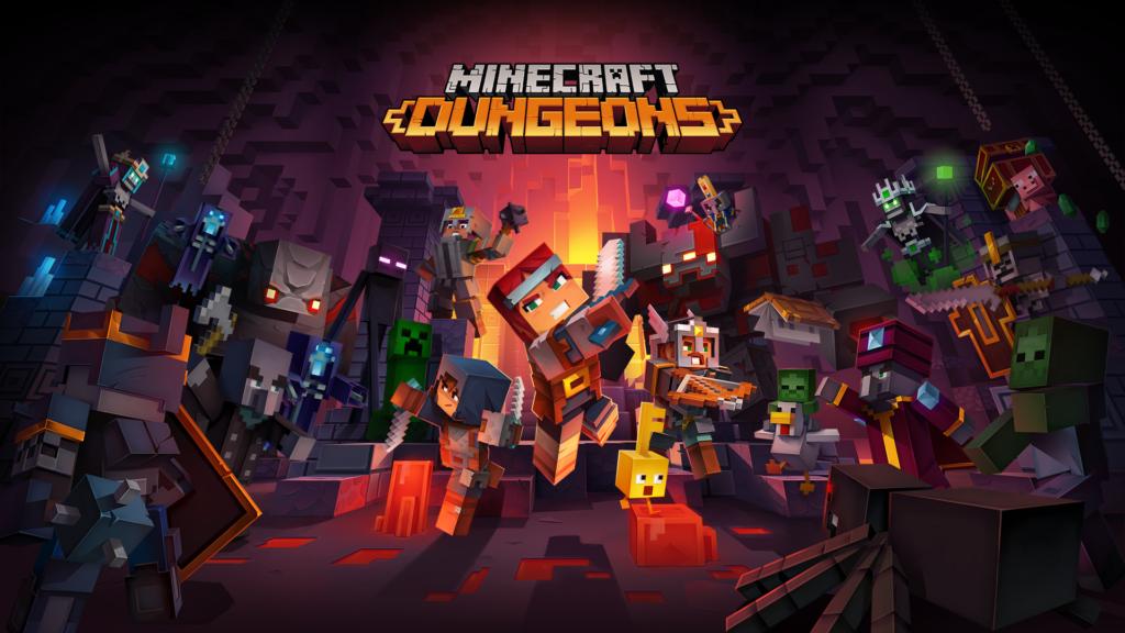 Кроссплатформенный мультиплееер в Minecraft Dungeons появится на следующей неделе