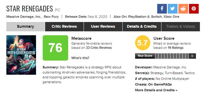 Star Renegades попадет в Game Pass для Xbox на релизе