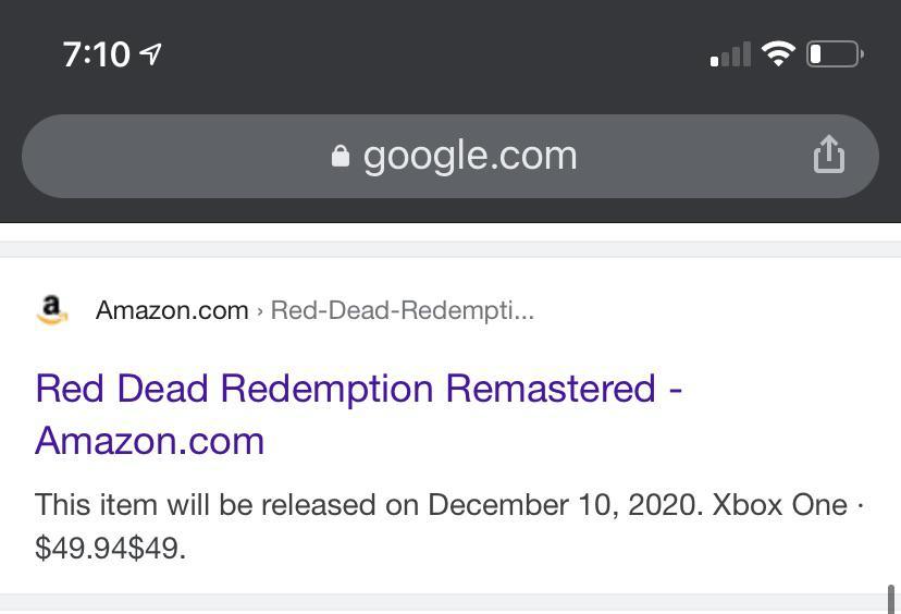 Переиздание Red Dead Redemption могут анонсировать на The Game Awards