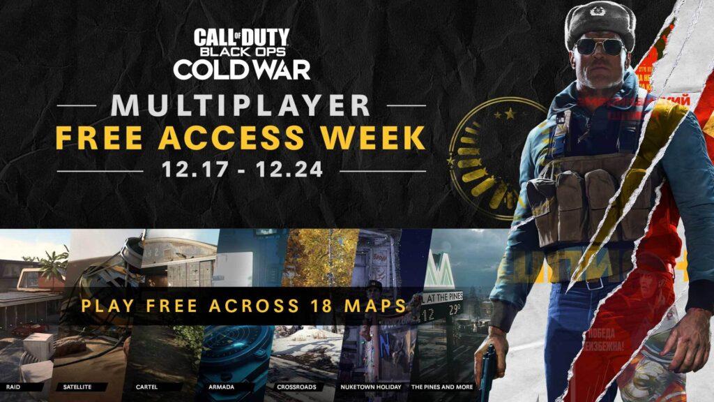 Мультиплеер Call of Duty: Black Ops Cold War будет доступен бесплатно в течение недели