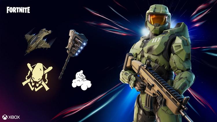 Мастер Чиф и карты из Halo сегодня становятся доступны в Fortnite