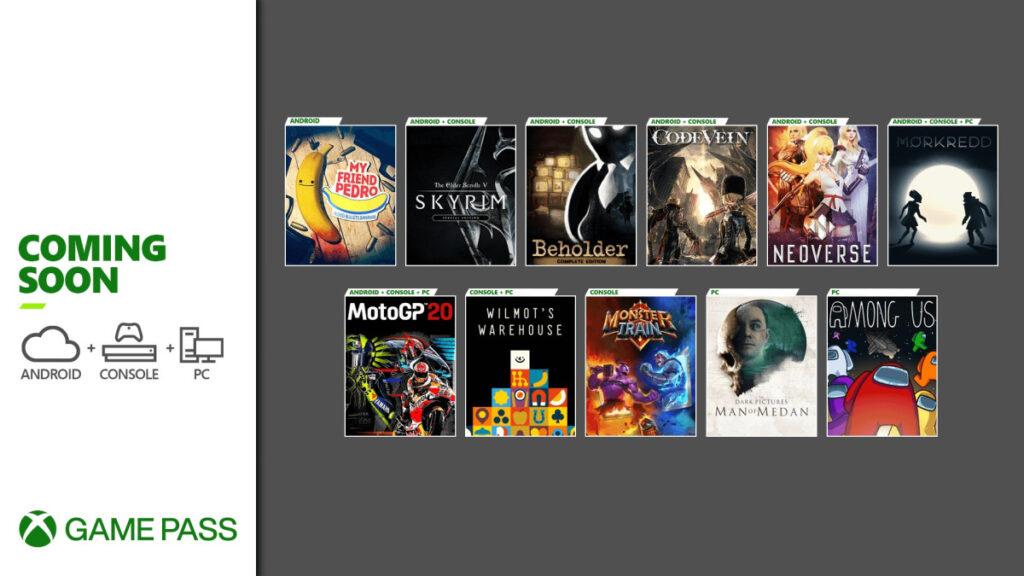 Эти 10 игр добавят в подписку Game Pass в декабре