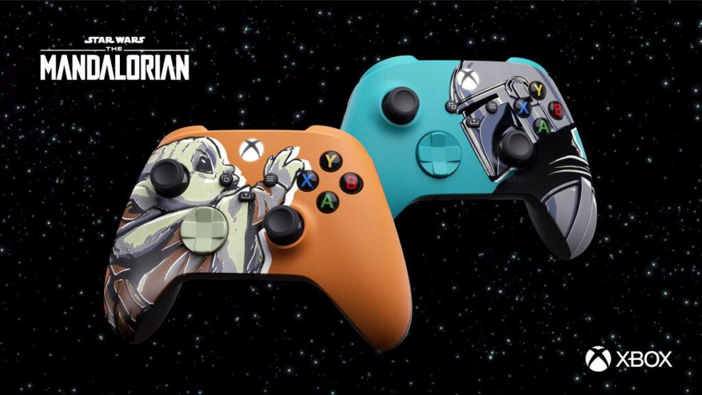 Microsoft показала геймпады Xbox в стиле сериала «Мандалорец»