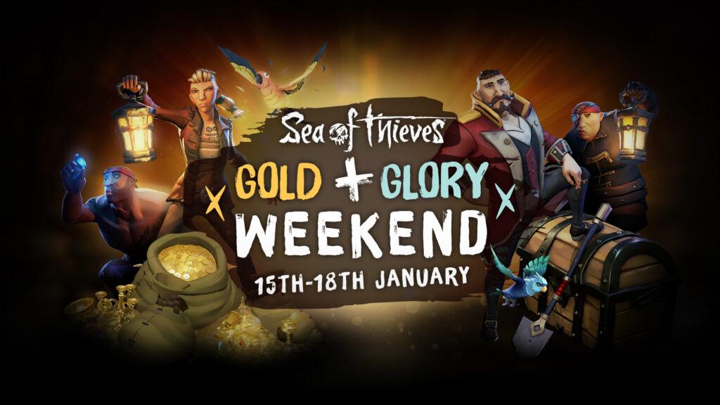 В Sea of Thieves на этих выходных игроков ждет двойная репутация и золото
