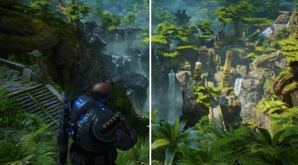Gears 5 и Gears Tactics получили поддержку технологии VRS 2 на Xbox Series X | S