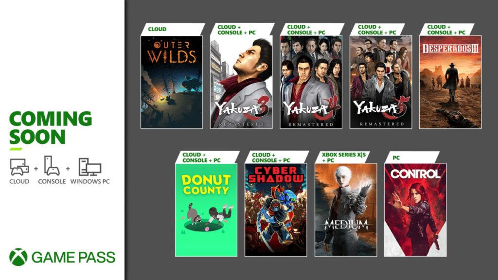 Эти 8 игр пополнят подписку Xbox Game Pass в конце января