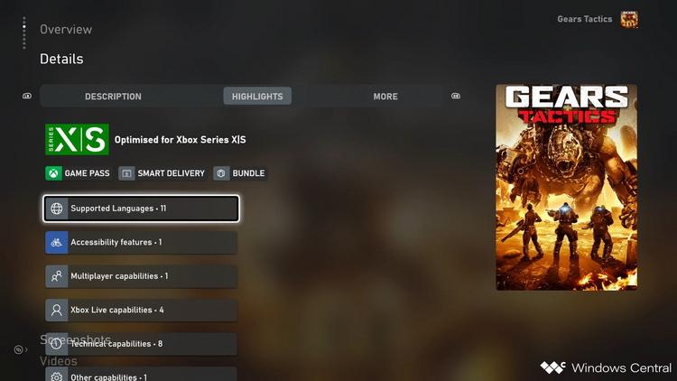 На Xbox в Microsoft Store теперь доступна подробная информация о переводе игр