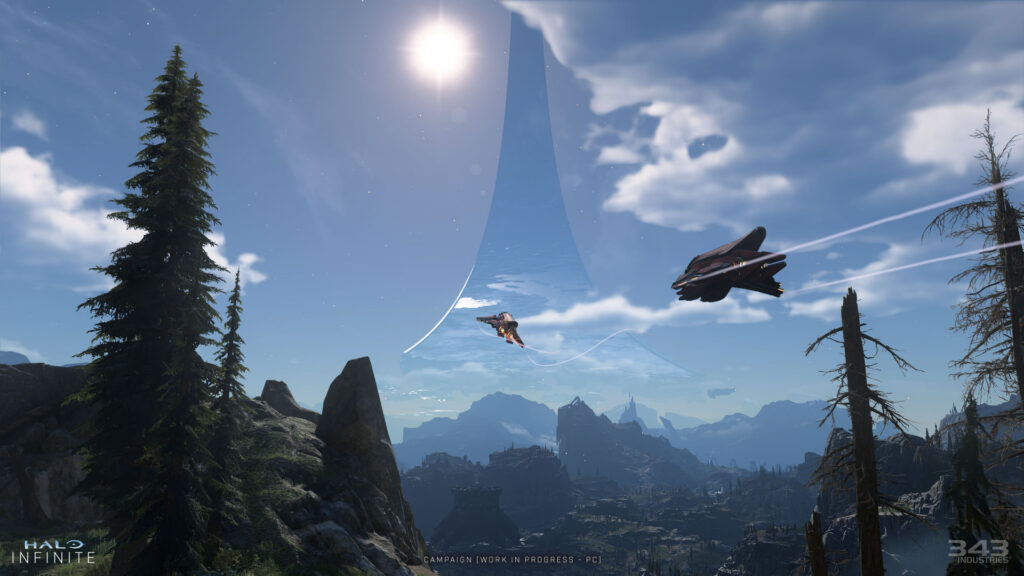Новые скриншоты Halo Infinite и динамическая система освещения в игре