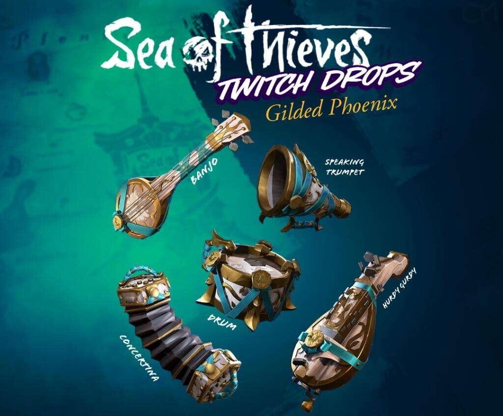 Предметы для Sea of Thieves можно получить бесплатно в течение недели