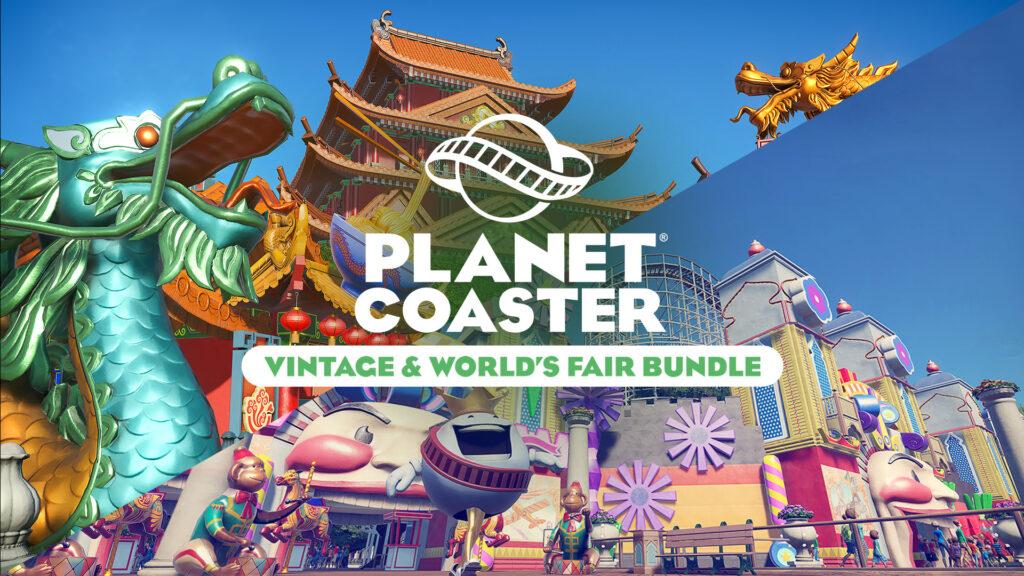 Planet Coaster: Console Edition получит дополнения Vintage и World's Fair на этой неделе