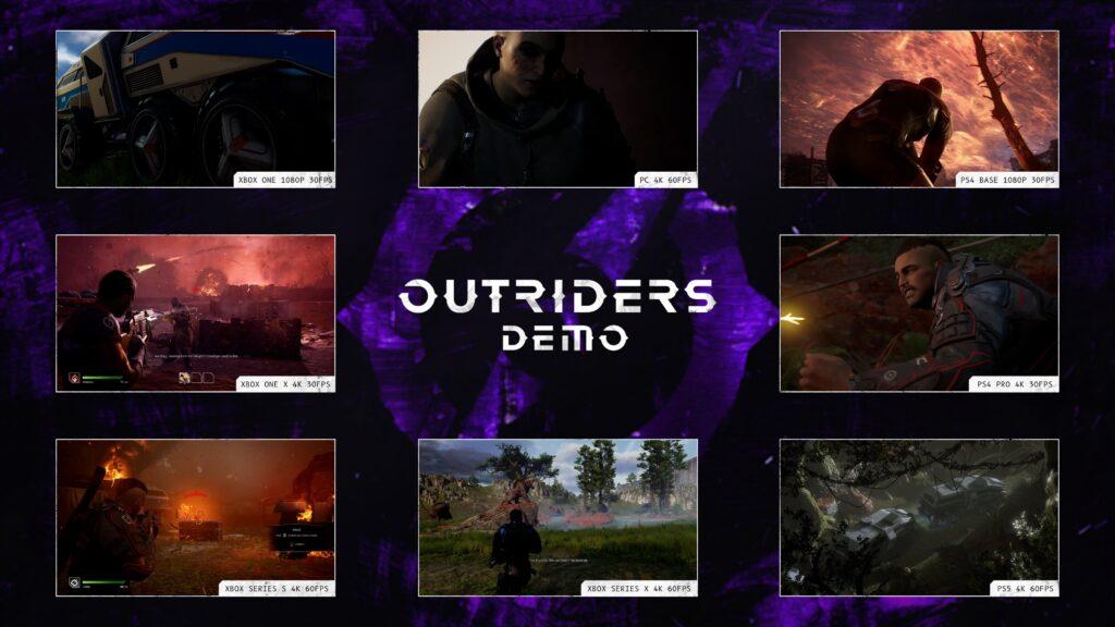 Демо-версия Outriders будет работать в 4K/60FPS на Xbox Series X и Xbox Series S