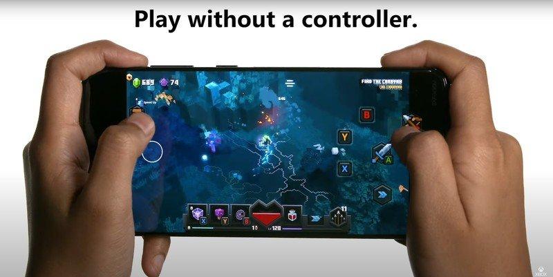 Новые игры получили поддержку сенсорного управления в Project xCloud