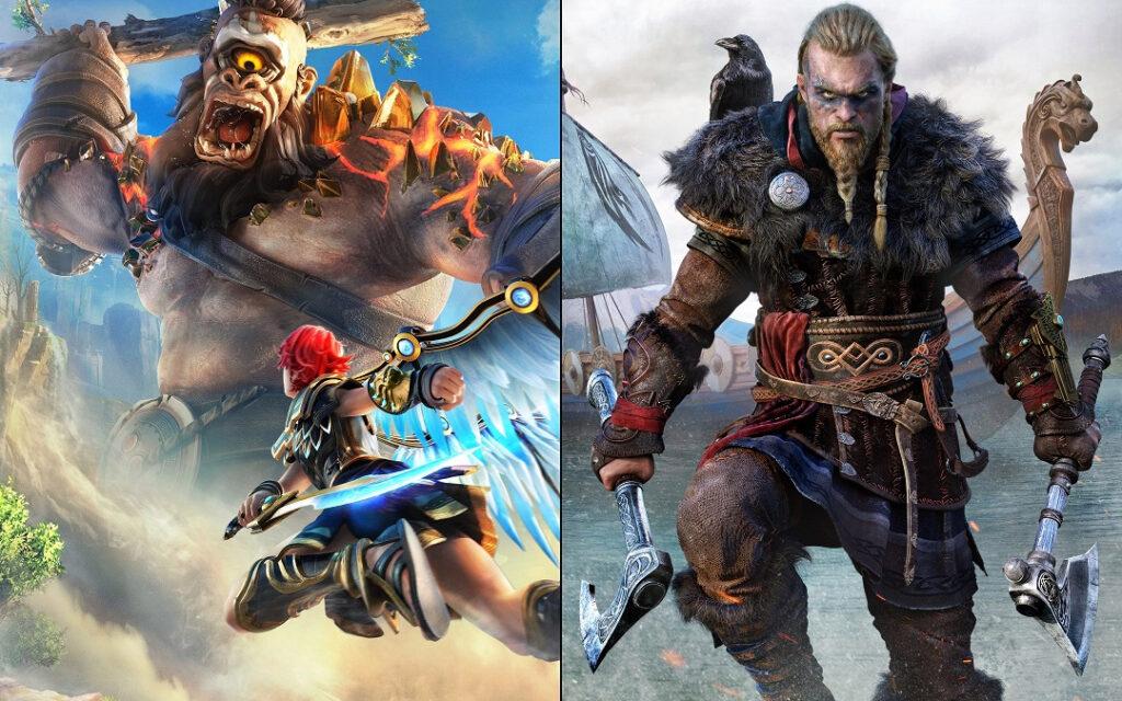 Бандл Assassin's Creed Valhalla + Immortals Fenyx Rising доступен на Xbox со скидкой