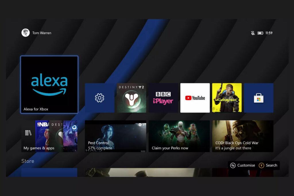 Приложение Alexa на Xbox расширит количество голосовых команд