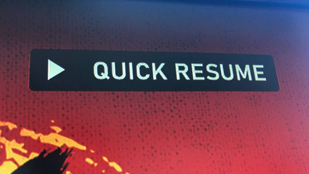 Еще 6 игр вскоре получат функцию Quick Resume